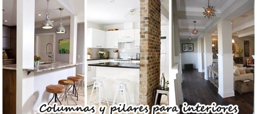 Columnas o pilares interiores para que tu casa se vea for Pilares y columnas