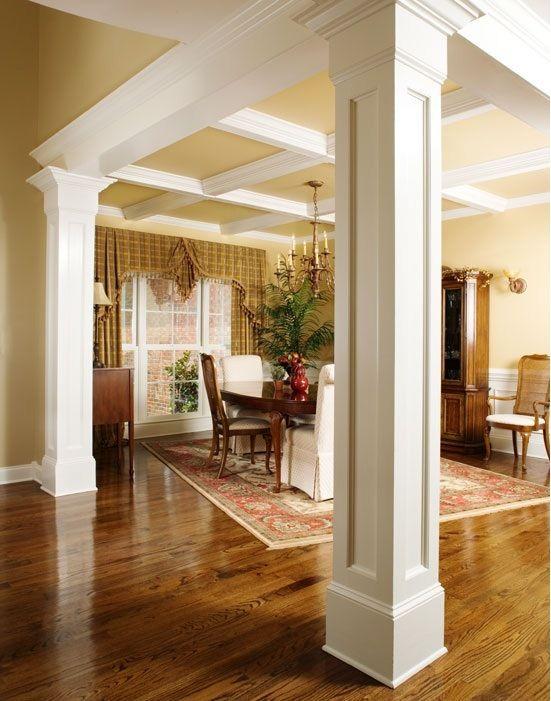 Columnas o pilares interiores para que tu casa se vea increible 7 curso de organizacion del - Columnas decoracion interiores ...