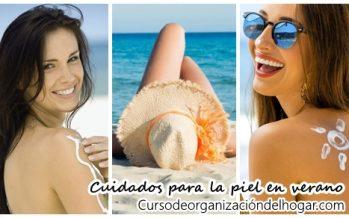 ¿Como proteger nuestra piel del sol en verano?