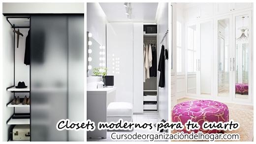 Diseños de closets que harán que tu cuarto se vea moderno - Curso de ...