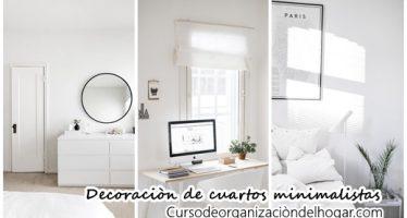 Los 28 mejores cuartos con decoración minimalista