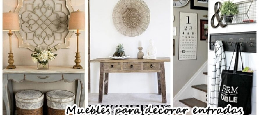 Muebles para decorar la entrada de tu casa curso de for Pegatinas para decorar muebles