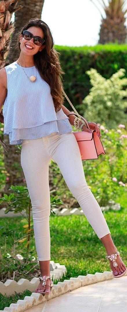 Outfits con jeans para esta primavera verano - Curso de Organizacion del hogar y Decoracion de ...