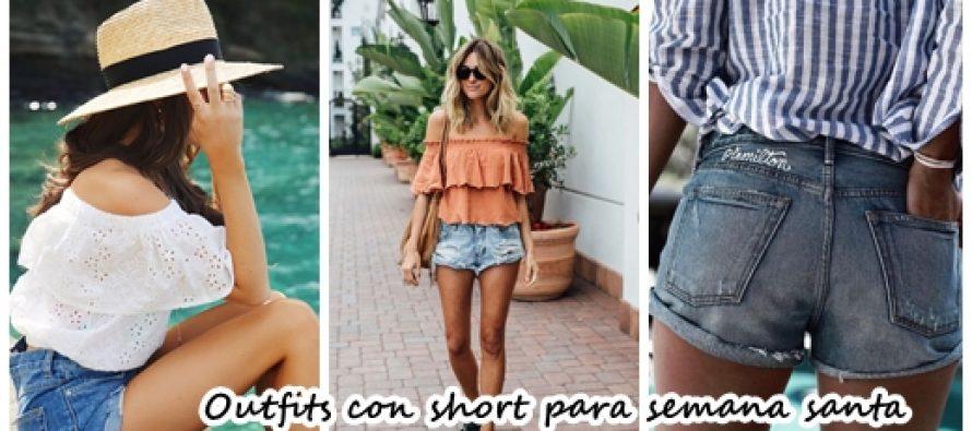 Outfits con shorts para tus vacaciones de semana santa