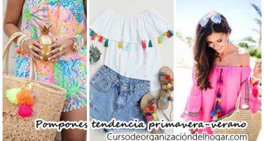 Pompones y un estilo étnico serán tus aliados esta temporada de verano