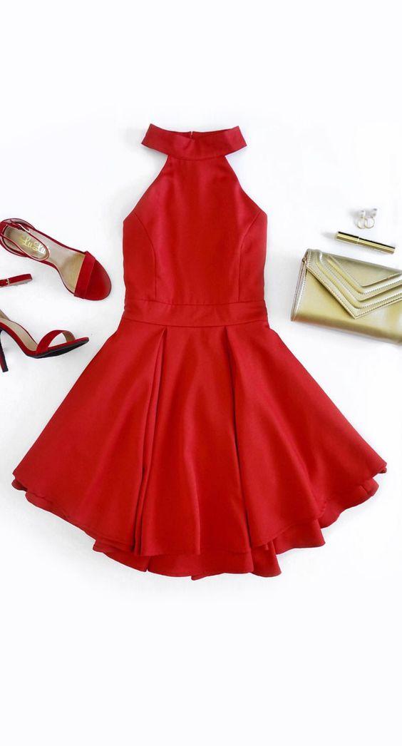524bd37b9 vestidos-rojos-que-nunca-fallan-en-ocasiones-especiales (26) - Curso ...
