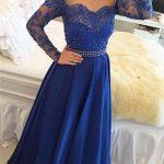 23 Vestidos de fiesta color azul rey