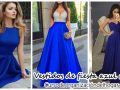 23 Vestidos de fiesta color azul rey