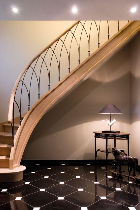 26 disenos de escaleras con varillas de acero 10 curso for Aprender diseno de interiores