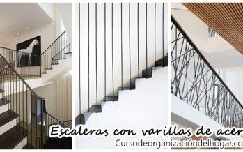 26 Diseños de escaleras con varillas de acero