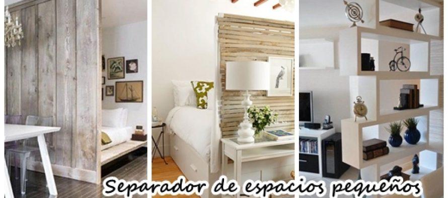 27 Ideas para separar espacios pequeños