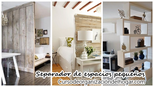 27 ideas para separar espacios peque os curso de for Ideas para decorar ambientes
