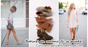 29 Ideas de outfits con las que puedes usar botines en verano