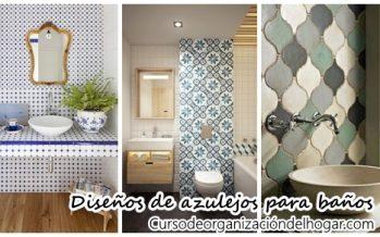 30 diseños de azulejos para decorar baños