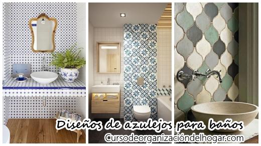 30 dise os de azulejos para decorar ba os curso de for Decoracion de azulejos