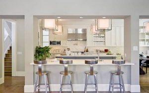 30 diseños de columnas para la cocina
