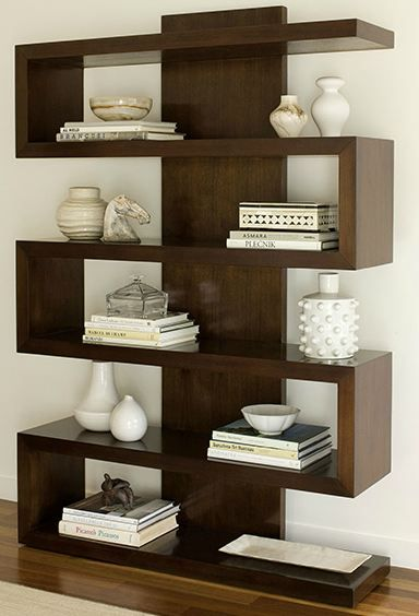 30 disenos de repisas y estantes para salas de estar 29 for Ideas para decorar mi casa estilo moderno