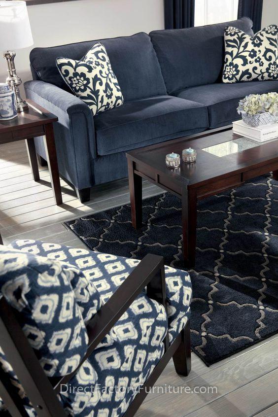 30-ideas-para-decorar-salas-de-estar-con-el-color-azul-marino (17 ...