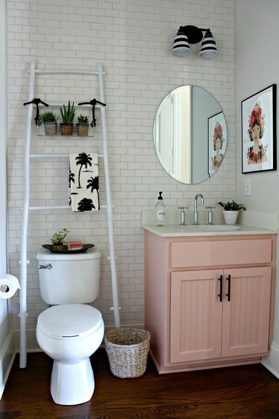 30-ideas-para-decorar-tu-bano-con-plantas (25)   Curso de ...