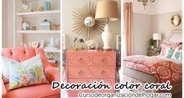 30 Ideas para decorar tu casa con el color coral