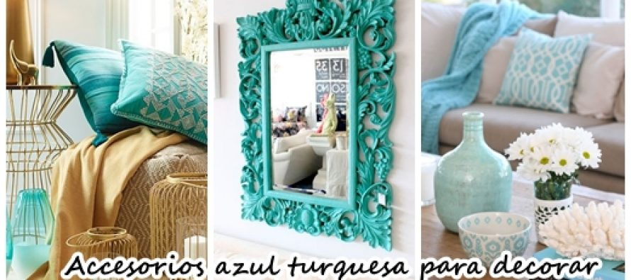 31 accesorios para decoración de interiores color turquesa