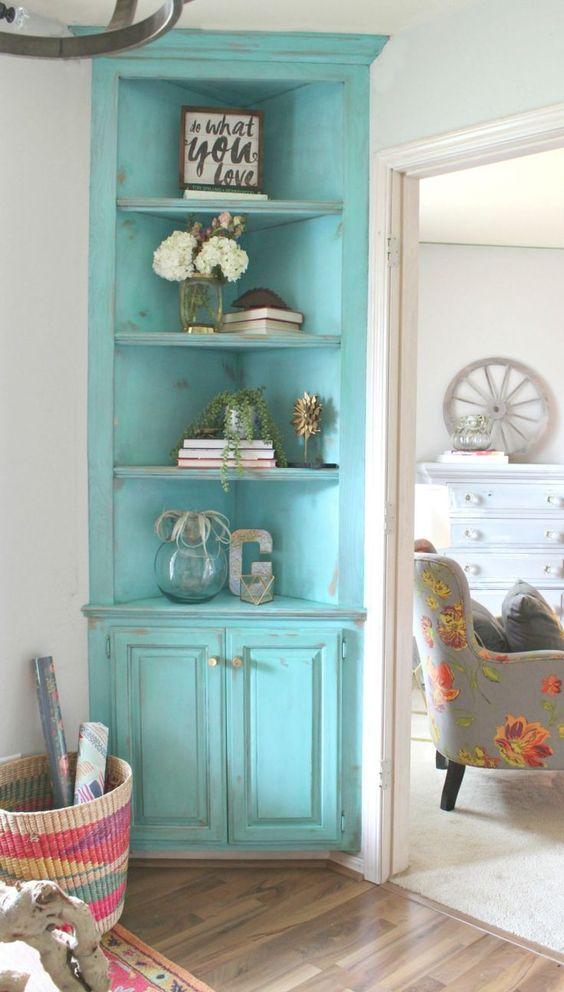 31 accesorios para decoracion de interiores color turquesa Accesorios para decorar interiores