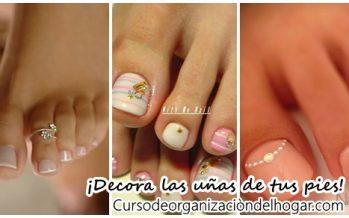31 ideas para decorar las uñas de tus pies este verano