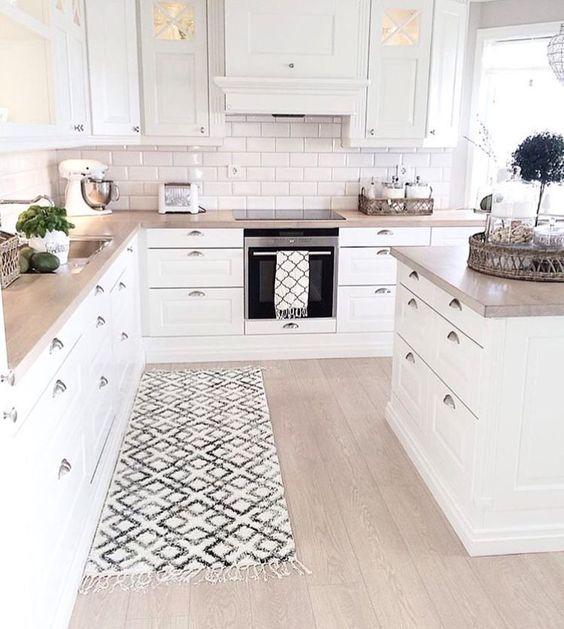 32 disenos de alfombras para cocinas 17 curso de - Alfombras de vinilo para cocina ...