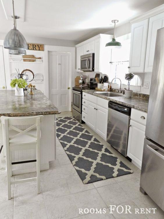 32 disenos de alfombras para cocinas 22 curso de for Alfombras de cocina