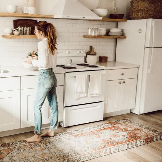 32 disenos de alfombras para cocinas 27 curso de - Alfombras para cocina ...
