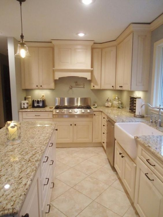 32 disenos de pisos para una cocina mas elegante 13 for Pisos para cocina