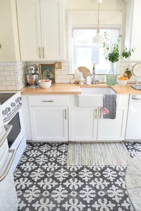 32 disenos de pisos para una cocina mas elegante 15 for Disenos de pisos para interiores