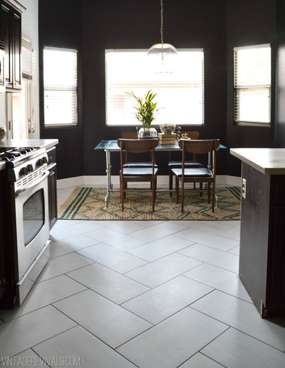 32 disenos de pisos para una cocina mas elegante 27 for Disenos de pisos para cocina