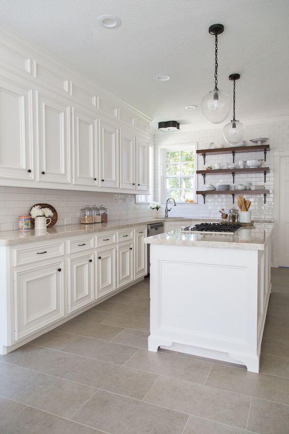 32 disenos de pisos para una cocina mas elegante 32 for Disenos de pisos para cocina