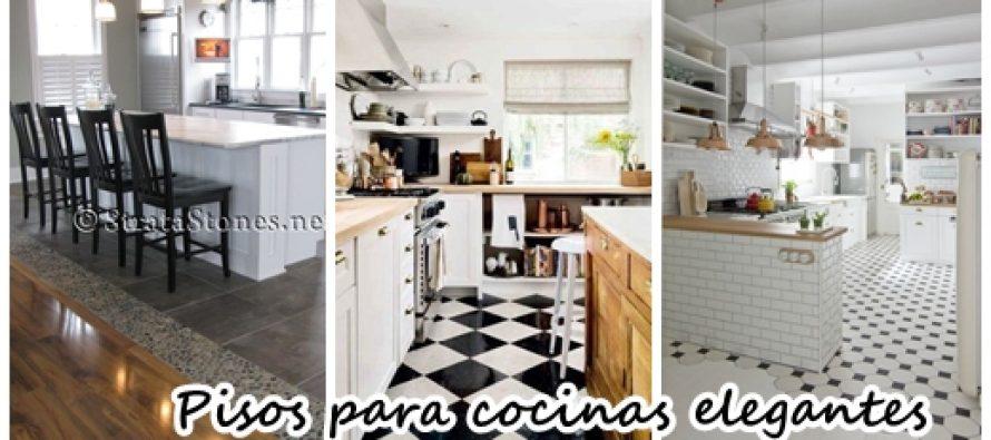 32 dise os de pisos para una cocina mas elegante curso for Disenos de pisos para cocina