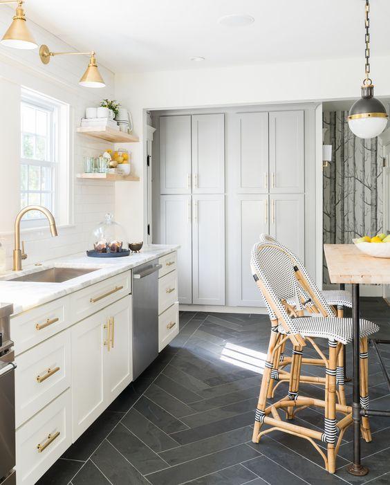32 disenos de pisos para una cocina mas elegante 9 for Disenos de pisos para cocina