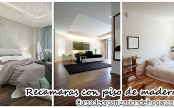 32 Diseños de recamaras con pisos laminados de madera