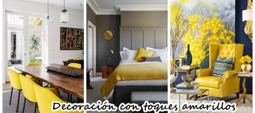 32 ideas para decorar tu casa con toques amarillos curso for Ideas para tu casa decoracion