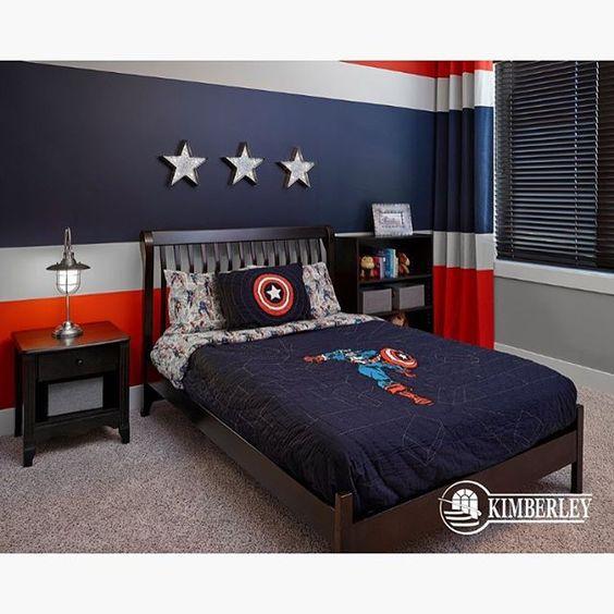 32-ideas-para-decorar-un-cuarto-de-ninos-con-tema-de-super-heroes ...