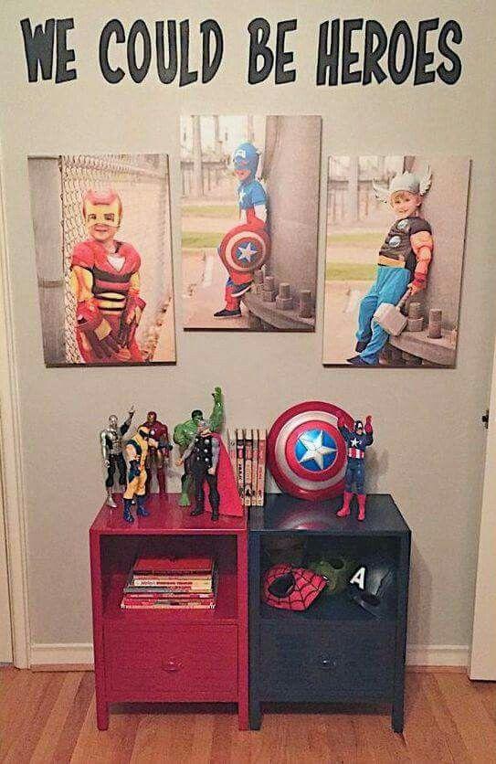 Superhero Room Design: 32-ideas-para-decorar-un-cuarto-de-ninos-con-tema-de-super