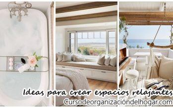 32 Tips de decoración para un espacio relajado y comodo