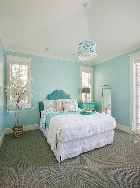 33 habitaciones decoradas con azul turquesa 1 curso de organizacion del hogar y decoracion - Habitaciones infantiles decoradas ...