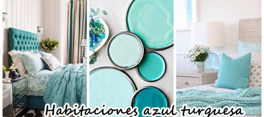 33 habitaciones decoradas con azul turquesa curso de for Habitacion azul turquesa