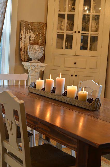 34 disenos de centros de mesa para tu comedor 33 curso - Centros de comedor ...