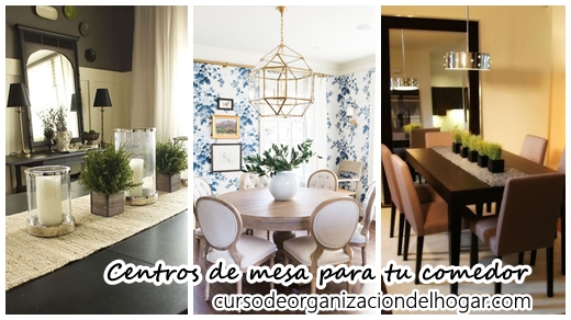 34 Diseños de centros de mesa para tu comedor - Curso de ...