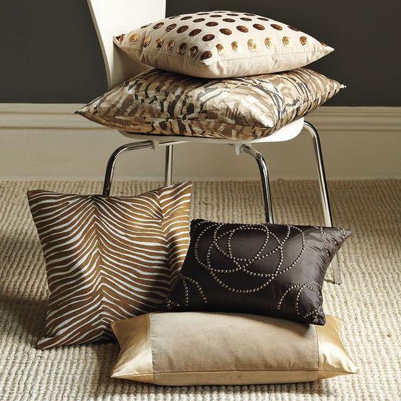 34 disenos de cojines decorativos para tu sala 14 curso de organizacion del hogar y - Diseno de cojines para sala ...