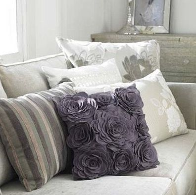 34 disenos de cojines decorativos para tu sala 4 curso de organizacion del hogar y - Hacer cojines para sofa ...