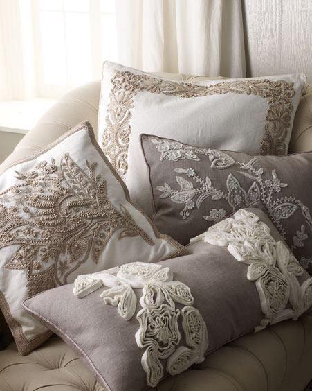 34 disenos de cojines decorativos para tu sala 5 curso de organizacion del hogar y - Diseno de cojines para sala ...
