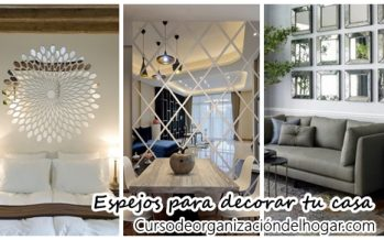 34 Ideas para decorar con espejos