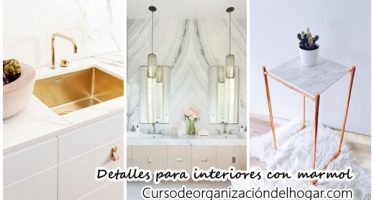 35 Detalles con marmol para decoración de interiores